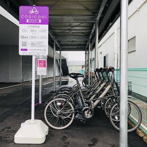 坂道でもスイスイ移動 シェアサイクルの実証実験が須賀川市でスタート画像