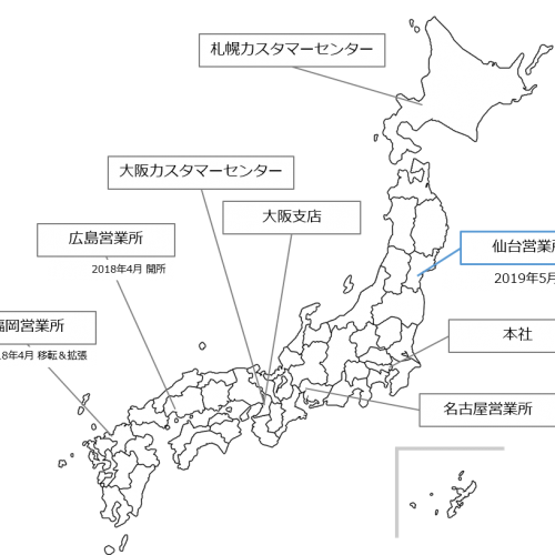 弥生が仙台営業所を新設 会計事務所とのパートナーシップ強化を目指す 写真1
