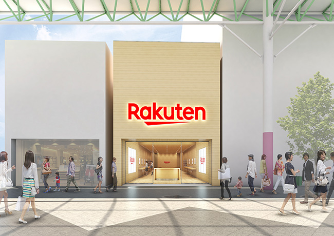楽天モバイルが仙台一番町に大型店舗「楽天モバイル 仙台一番町店」を出店 パース