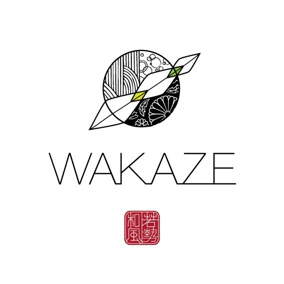 山形の日本酒スタートアップWAKAZEが1億5000万円の資金調達を実施 パリに酒蔵を設立へ ロゴ