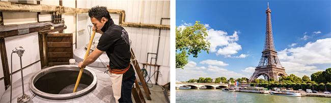 山形の日本酒スタートアップWAKAZEが1億5000万円の資金調達を実施 パリに酒蔵を設立へ 醸造パリ画像