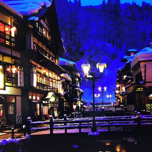 山形県の銀山温泉「銀山荘」が無料宿泊券が当たるTwitterキャンペーンを実施中! アイキャッチ画像