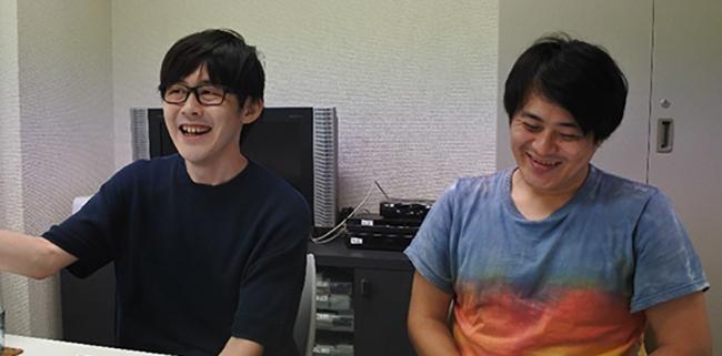 クラウドファンディング目標120万円達成!「秋田住みますプロジェクト」を仕掛けるお笑い芸人「ねじ」の、秋田に懸ける想いとは? ねじ(左:ササキユーキさん、右:せじもさん)